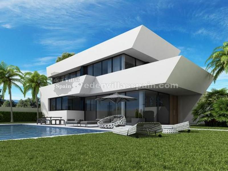 Nouvelle maison en la marina la marina alicante for Prix nouvelle construction